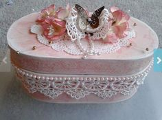 80 Best Decorated trinket boxes images in 2019 | Trinket