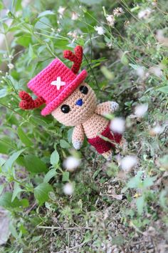 Tony Tony Chopper One Piece  Amigurumi PDF pattern von BaburuStar, $5,50