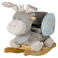#Geschenketipp: Schaukeltier von Nattou! Knuffig weich, mit hohem Spaß- und Sitzkomfort.