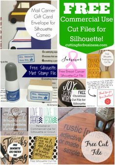 Pin now, download later! Free, commercial use Silhouette Cameo and Mint cut, sketch, and stamp files on cuttingforbusiness.com.