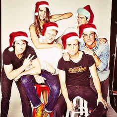Hey look.... It's Santa Klaus! lol | The Vampire Diaries ...