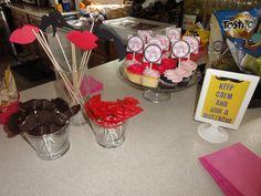 Birthday WIg & Stache Bash 2012; Lip & Stache Lollipops