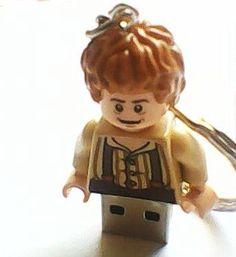 16GB LEGO The Hobbit Bilbo Baggins USB Flash  USBbricks.com