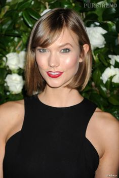 PHOTOS - Karlie Kloss, sexy avec son carré méché.