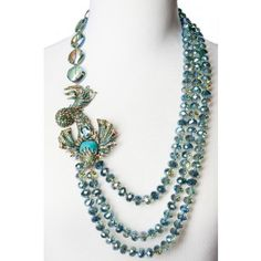 """""""Sea Odyessy"""" Statement Necklace - Seashore Chic - Sale - Tuesday's Treasures 
