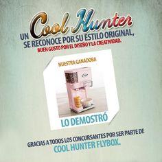 Felicidades a Erika Rocca por convertirse en nuestra Cool Hunter FlyBox 2013