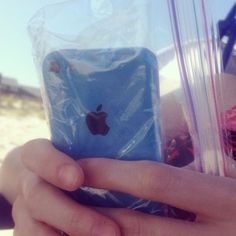 Bring sandwich-sized Ziploc bags to keep important items like phones and passports dry and organized. | 19 Tips To Help Make You A More Savvy Traveler
