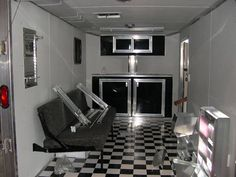 Storage and lounge space - not a bad idea!   We'll customize your trailer to fit your specifications. Design your own today! | TrailerSuperStore.com