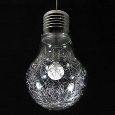 Sklenené kreatívne v tvare žiarovky LUCE MAX SP1 BIG   Ideal Lux- Light Bulb, Lighting, Retro, Big, Home Decor, Cluster Pendant Light, Decoration Home, Room Decor, Light Globes