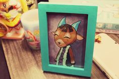 Neat idea! You could have a photo of a villager from Animal Crossing just like in the actual game! :D