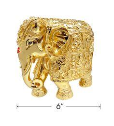 Two - Tone Elephant 6 Inch