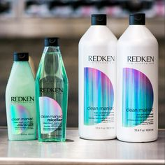 And they say the perfect(haircare) family doesn'texist. Check out our Redken's new Clean Maniac line!