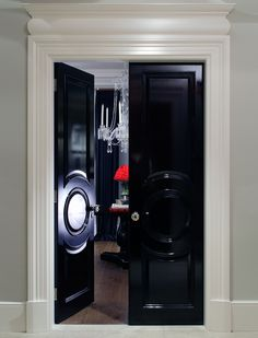 Great doors black lacquer