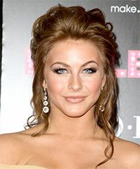 Bridal Hair For Round Face | ... katherine heigl hairstyle updo wedding hair formal half up long curly