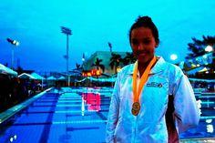 5to lugar para Ayumi Macías en los 400 metros libres en JCC 2014 ~ Ags Sports