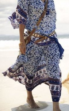 Perfectly bohemian. The belt is just insane! Via Spell and the Gypsy Collective.