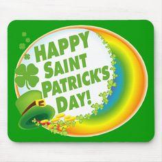 St Patricks Day Quotes, Happy St Patricks Day, Saint Patricks, Irish T, St Paddys Day, Luck Of The Irish, Custom Mouse Pads, St Pattys, Graphic Tee Shirts