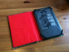 Make your own Kindle case from an old book