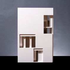 Richard Davies | David Chipperfield Architects Well damn its a professional three planes in a box model