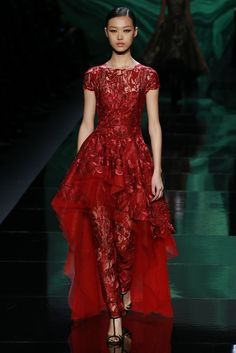 Monique Lhuillier's Lavish and Dramatic Fall 2013 Collection