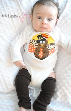 a4386ade8140 Boy Thanksgiving Turkey Tom Infant Bodysuit One Piece, Child, Toddler Shirt Outfit  Thanksgiving Baby