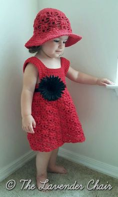 Weeping Willow Toddler Dress - Crochet Pattern - The Lavender Chair