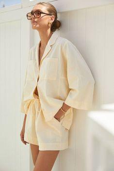 Baby Canvas, Vogue, Nautical Fashion, Sleepwear Women, Spring Summer Fashion, Dress To Impress, Work Wear, Lounge Wear, Summer Outfits