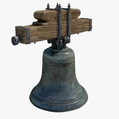 church bell 3d fbx