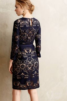 Kittery Lace Dress - anthropologie.com