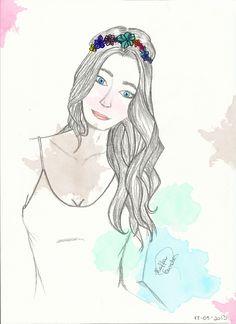 Portrait illustration by Raffa Sanches