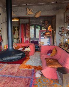 Room Ideas Bedroom, Bedroom Decor, Decor Room, Indie Room, Dream Apartment, Retro Apartment, Aesthetic Room Decor, Dream Home Design, Dream Rooms