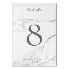 Elegant Marble and Wreath Wedding Table Numbers #wedding #suites #reception #party