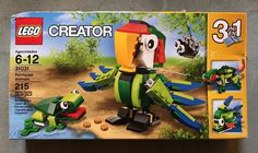 Lego Creator Set #31031 Rainforest Animals *RETIRED, 3 in 1 Unused - Damaged Box  | eBay