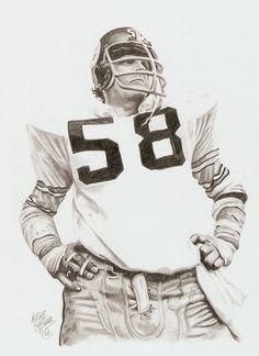 #58 Lambert Pittsburgh Steelers Players, Pittsburgh Sports, Football Art, Steeler Football, Football Players, Steelers Meme, Steelers Stuff, Sports Art, Sports Decor