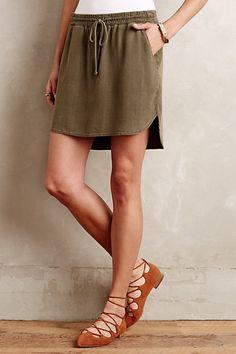 Boardwalk Skirt #anthropologie