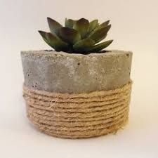 Image result for diy cement planter pots