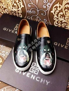 Givenchy dog head prints casual shoes