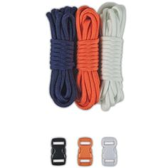 Paracord Planet 550lb Type III Paracord Combo Crafting Kits with Buckles Denver -- Click on the image for additional details.