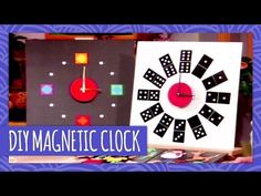 DIY Magnetic Clock - Throwback Thursday - HGTV Handmade