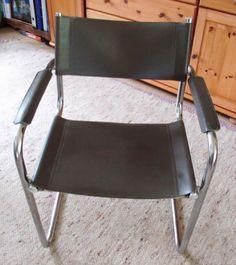 Stoel metalen frame, klassiek design, Bauhaus style - Prijs: Gratis