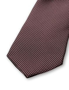 Marciano tie-Men's tie in pure silk. Features a small micro dot pattern. Tiger of Sweden logo on lining. Width: 7 cm. Made in Italy