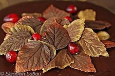 Chocolate Leaves are decorations that look just like delicate leaves. Learn how to make chocolate leaves and use them to top cakes, cupcakes, and more! Chocolate Work, Chocolate Truffle Cake, Chocolate Dipped Oreos, Chocolate Flowers, Modeling Chocolate, Chocolate Glaze, How To Make Chocolate, Chocolate Truffles, Making Chocolate