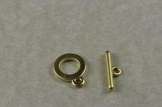 Fornitura cierre marinero, chapado en oro de 22k. para usar en joyería y alta bisuteria.
