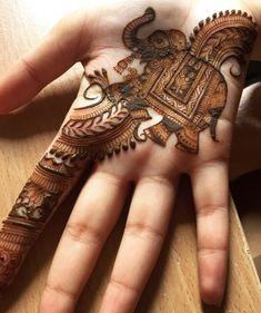 Pinterest: @pawank90 Palm Mehndi Design, Indian Mehndi Designs, Stylish Mehndi Designs, Mehndi Designs For Fingers, Wedding Mehndi Designs, Mehndi Design Pictures, Beautiful Mehndi Design, Mehandi Designs, Mehndi Images
