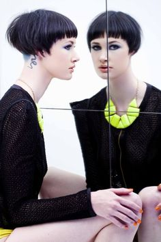 Relection Collection by: Adam Ciaccia undercut to graduation hair