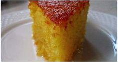 Δεν ξεφουσκώνει και γίνεται αφρός! Ξεχάστε όλες τις συνταγές που έχετε για ραβανί και δοκιμάστε αυτό Greek Sweets, Greek Desserts, Greek Recipes, Candy Recipes, Wine Recipes, Dessert Recipes, Homemade Sweets, Homemade Cakes, Greek Cake