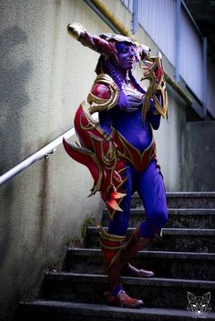 """Cosplayeur : Bakasheep Facebook : https://www.facebook.com/bakasheep.sushi.camo/?fref=ts  After 150 hours of work, Shyvana is ended ! Here is one of pictures taken by photographers to the """"Savoie Retro Games Festival"""" (2015 Annecy FRANCE) Photographer : TheFoxxx Photography"""