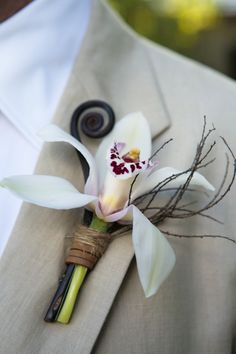 I like this.. with Calla Lily, a key and the burlapish color wrap...