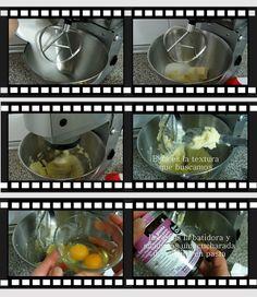 N.M. Galletas Artesanas: Cómo hacer masa de galletas, video tutorial