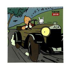2018 Calendar   The Tintin Shop UK